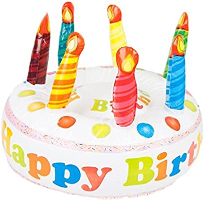 Magnificent Ootb Inflatable Happy Birthday Cake Diameter 27 Cm Ideal For Funny Birthday Cards Online Unhofree Goldxyz