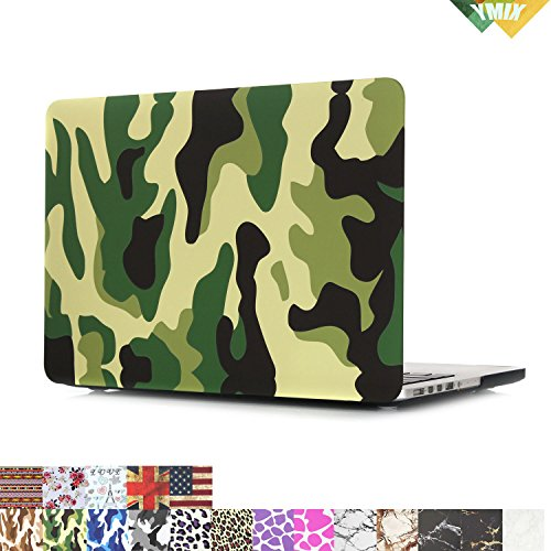 MacBook Display YMIX Rubberized Camouflage