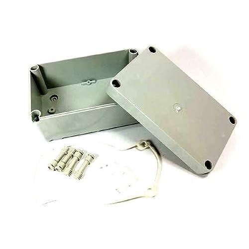 Plastique étanche boîtier électrique Boîte de jonction Simple Gris