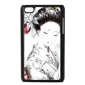 anime Geisha iPod Touch 4 Case Black SUJ8466359