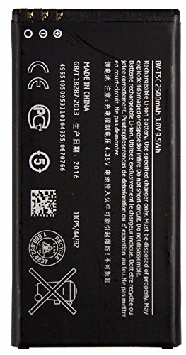 New 2500 mAh Replacement Battery for Microsoft Nokia Lumia 640 BVT5C BV-T5C (Accessories Wireless Battery Nokia)