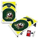 Oregon Ducks Baggo Bean Bag Toss Cornhole Game Vortex Design