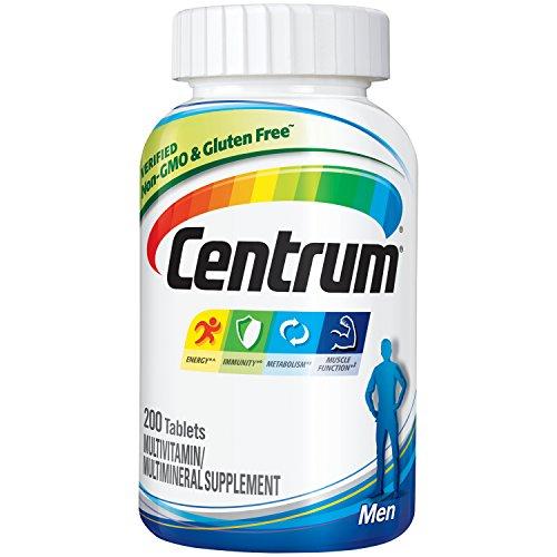 Centrum Men Multivitamin / Multimineral Supplement Tablet, Vitamin D3