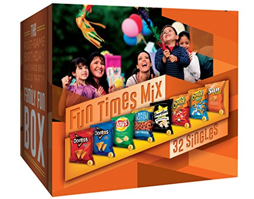 Frito-Lay Fun Times Mix Variety Pack, 32