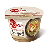 korean rice soup - [5packs] CJ Cooked White Rice with bean sprouts soup / instant food / Korean food / fast cooked
