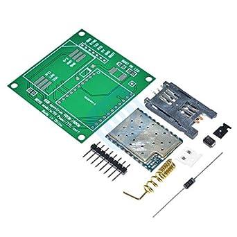 High Quality M590E GSM//GPRS Board SMS CPU MCU TTL Test Message DIY Kit