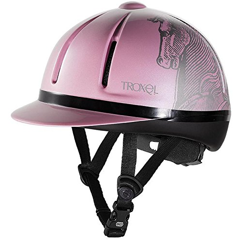 Troxel Legacy Antiqus Helmet, Pink, Small