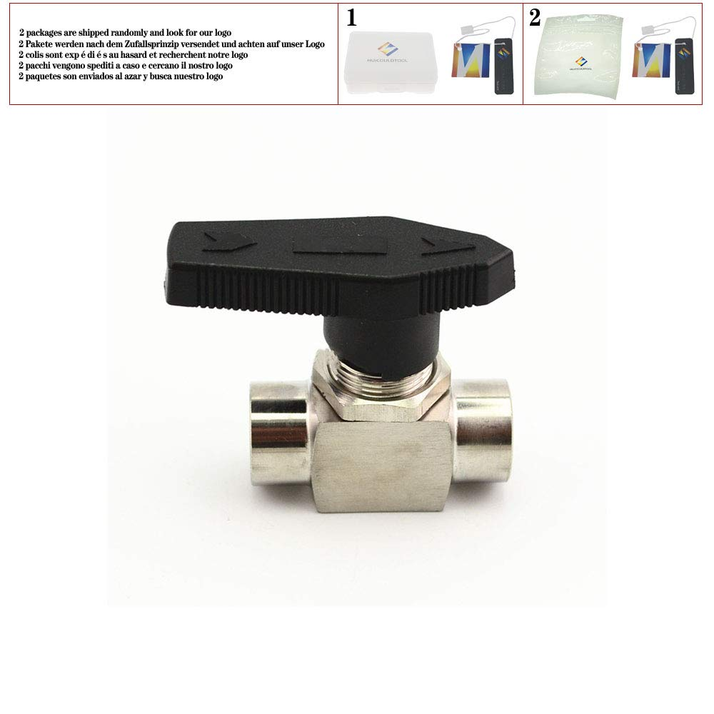 """1//4/"""" NPT Female Needle Valve 304 Stainless Steel Water Gas Oil Flow Control"""