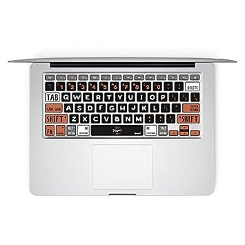 dekalesk @ Macbook Air de vinilo adhesivo de vinilo para teclado de teclas teclado Macbook pro de ...