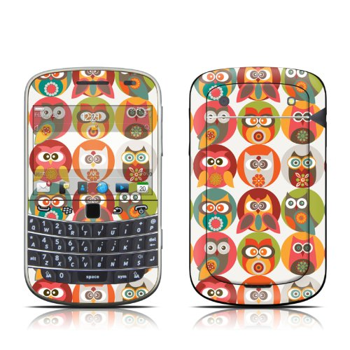 Owls Family Design Protector Skin Decal Sticker for BlackBerry Bold Touch 9930 9900 Cell Phone