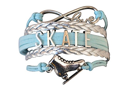 Infinity Collection Figure Skating Jewelry- Figure Skating Bracelet for Women - Perfect Figure Skating Gifts (Used Figure Skating Competition Dresses For Sale)