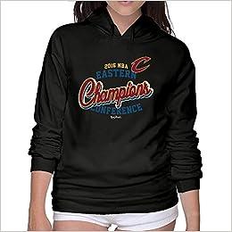 Amazon.com  Womens Cleveland Cavaliers LeBron James 2016 Eastern Conference Champions  Hoodie Sweatshirt  Books fed5b915c3