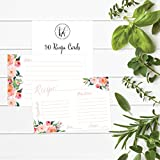 4x6 Recipe Cards, (Set of 50) Recipe Cards, Blank