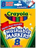 BIN587808 - Classic Colors Washable Waterbased Markers