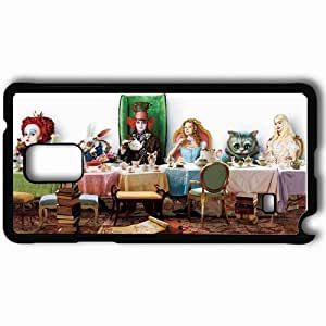 Personalized Samsung Note 4 Cell phone Case/Cover Skin A Alice in wonderland 2010 26489 Black by supermalls