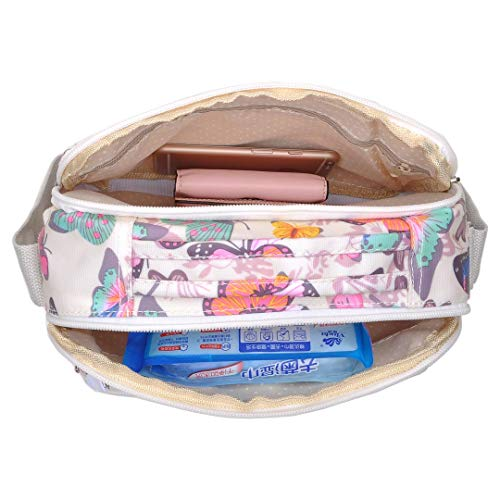 Viaje Mariposa Diynp 9201 De Mujer Bolsas Bolsa Mochilas Impermeable Bolsos Bolso Moda Para Bandolera Nylon 77a61