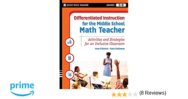 Amazon.com: Differentiated Instruction for the Middle School Math ...