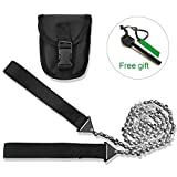 Pocket Chainsaw 24 Inch Wilderness Survival Chainsaw Portable Hand Saw Camping Saws gardening saws and Magnesium Rod Fire Starter for Survival Gear Camping Hiking Hunting Tree Cutting et outdoor acti
