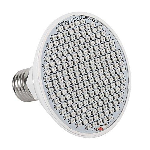 E27 24W LED Grow Light 200-LED