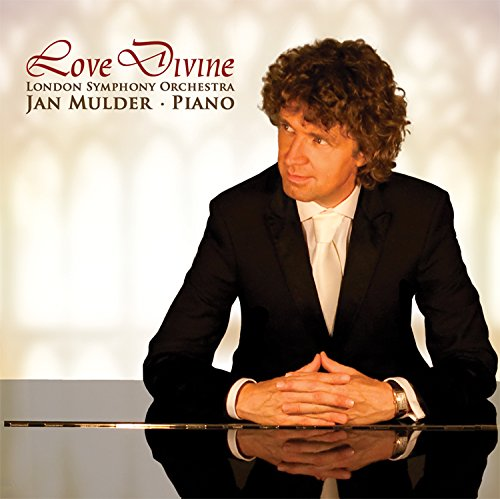 Love Divine: inspirational sacred album by pianist Mulder & London Symphony Orchestra (As the deer, Abide with me, It is well, Amazing Grace, Sanctus, and others). by Miller Music USA