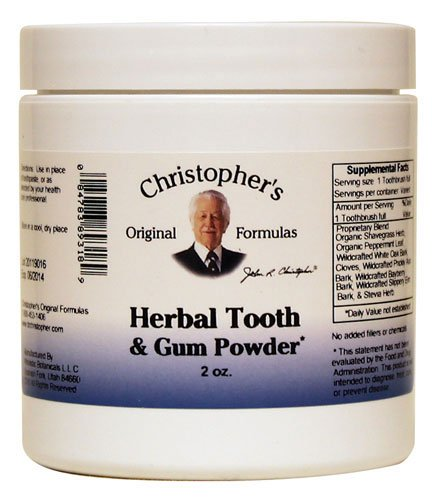 Christopher's Tooth and Gum Powder