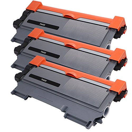 Mingtyson Compatible Toner Cartridges Replacement for Brother TN450 TN-450 TN420 TN-420 High Yield, 3 Black, Use with Brother HL-2270DW HL-2280DW HL-2230 HL-2240