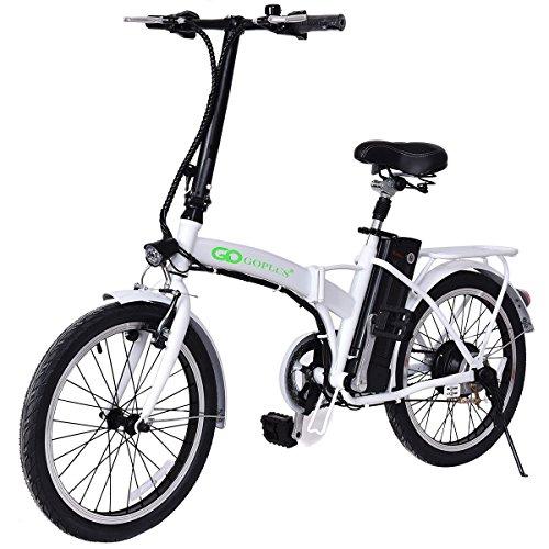 """Goplus 20"""" 250W Folding Electric Bike Sport Mountain Bicy..."""