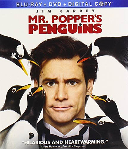 Check expert advices for mr poppers penguins blu ray dvd?