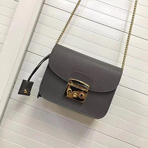 Chain Bag Messenger grey Bags AASSDDFF Genuine Small Bag Clutches Women Girls Ladies Female Mini 18cm8cm12cm Crossbody Flap 7B7Sxwq