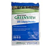 GreenView Fairway Formula Spring Fertilizer with Crabgrass Preventer, 17 lb bag, Covers 5,000