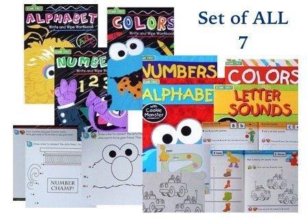 Sesame Street Preschool Activity Workbook