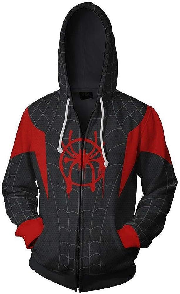 NBTop Sudaderas con Capucha, Manwei Ultimate Spider-Man 3D Impreso ...