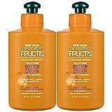 loreal cream conditioner - Garnier Hair Care Fructis Curl Nourish Butter Cream Leave-In Conditioner, 2 Count