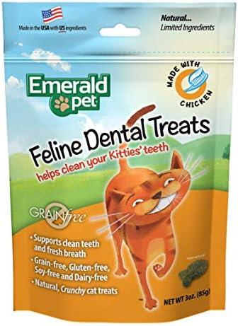 Emerald Pet Premios Dentales de Pollo de 85g para Gato 2