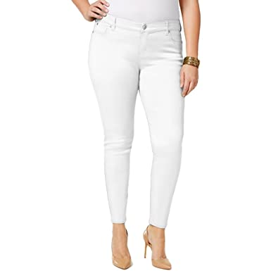 Celebrity Pink White Jeans