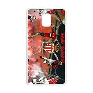 Malcolm Five major European Football League Hight Quality Protective Case for Samsaung Note4