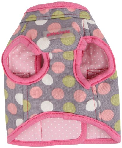 Pinkaholic New York Affera Pinka Wrap for Dogs, Grey, Small by Pinkaholic New York