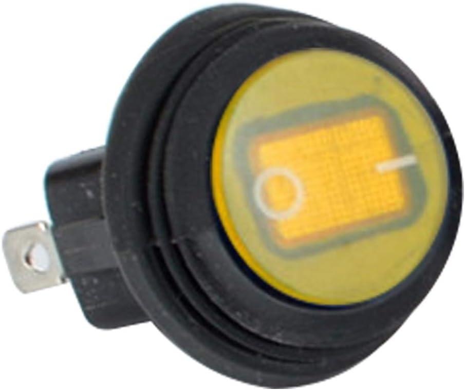 LED ILLUMINATED  ROCKER  SWITCHES  x 3  ON OFF 12v  Car Dash board
