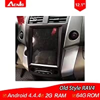 12.1Inch Android 4.4.4 Multimedia Player for Old Style RAV4 Auto GPS Navigation GPS+Mirrorlink+BT+Radio+AUX IN+DVR