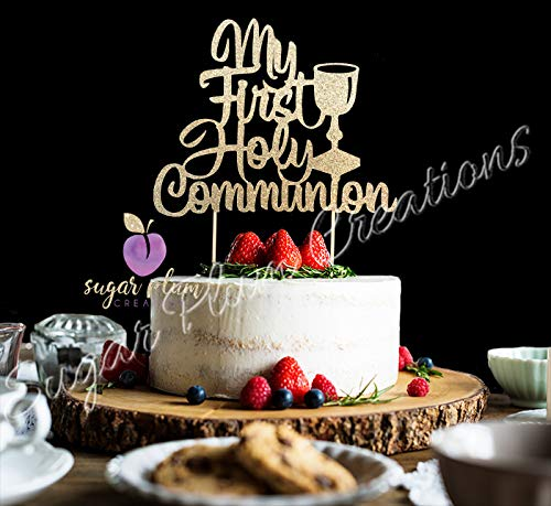 My First Holy Communion Cake Topper