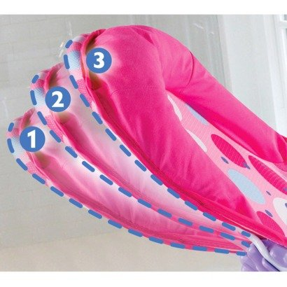 012914185353 - Summer Infant Deluxe Baby Girl Bather 3 Position Pink carousel main 1