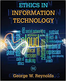 amazon ethics in information technology george w reynolds pmp