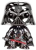 Figurine Star Wars Darth Vader/Dark Vador Chrome Edition Pop 01