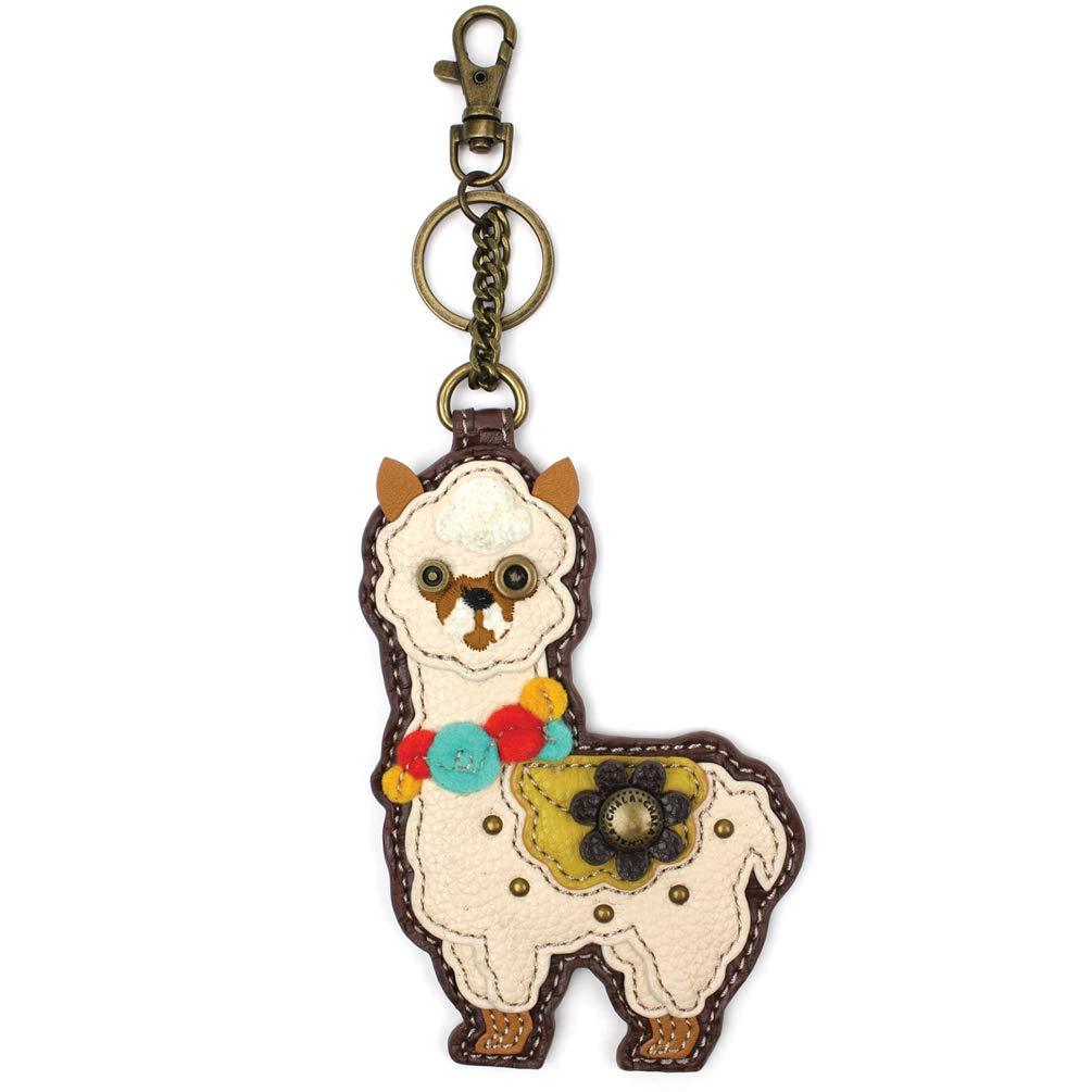 Chala Coin Purse/Key Fob - Llama by CHALA