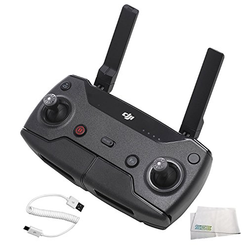 DJI Spark Remote Controller Bundle, Black (CP.PT.000792) by SSE