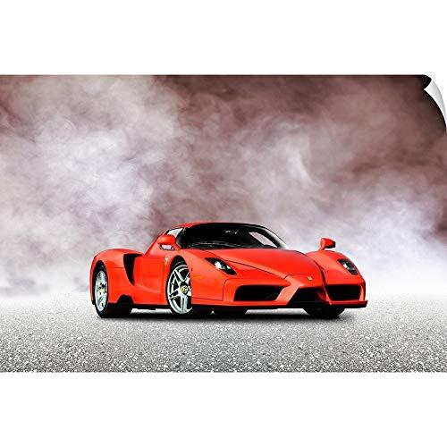 CANVAS ON DEMAND Ferrari Enzo Wall Peel Art Print, 24