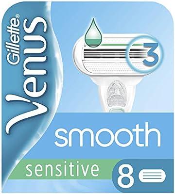 Gillette Venus Smooth Sensitive - Maquinilla de afeitar para mujer ...