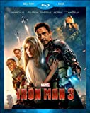Iron Man 3 (Blu-ray / DVD Combo Pack) by Walt Disney Studios Home Entertainment by Shane Black