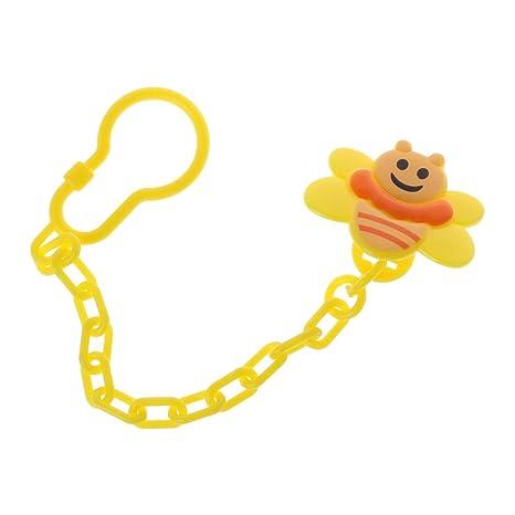 A0127 - Chupete para bebé, clip de dibujos animados, cadena ...