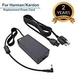 for Harman Kardon Onyx Studio 4 3 2 1 Wireless Bluetooth Speaker Replacement Power Cord Charger Supply Cable Adapter 19V AC DC 8.5Ft
